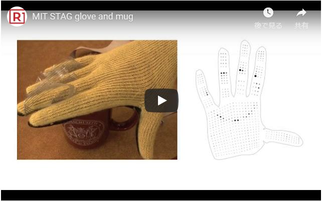 ロボット用触覚手袋